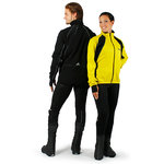 Trio jacket for cycling, yellow