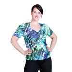Top Janette 1/4 sleeves, AnimalMagic